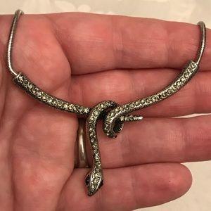 Jewelry - Snake rap necklace